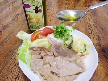 豚肉のオリーブオイル添え 脳にいい食べ物レシピ#1