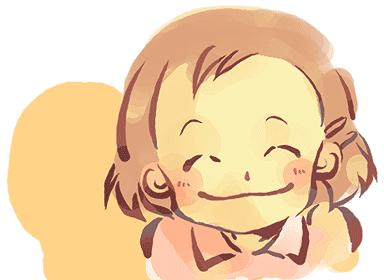 こんな笑顔が、いつも自然とできるといいですね。 画像はHPでもお世話になっているポカポカ色さんから頂きました。