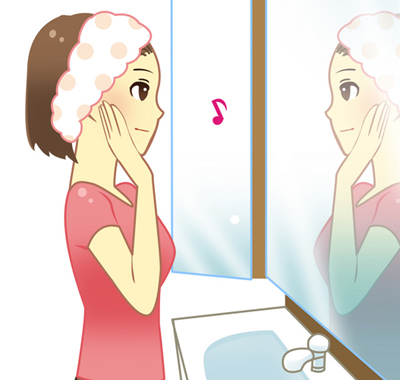 朝、顔を洗うのをやめたら敏感肌が治った~