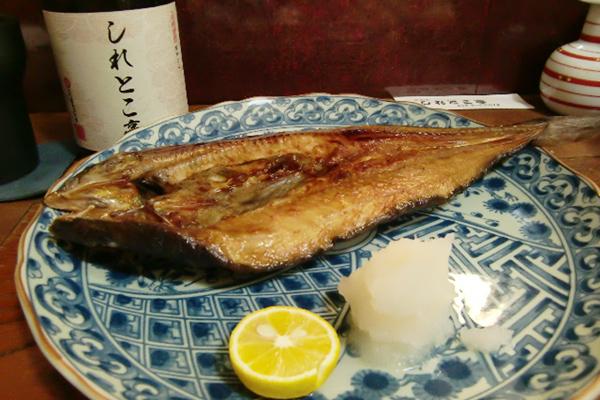 焼きほっけ 脳にいい食べ物レシピ#17 <居酒屋編>