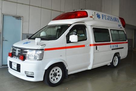 初めての救急車!