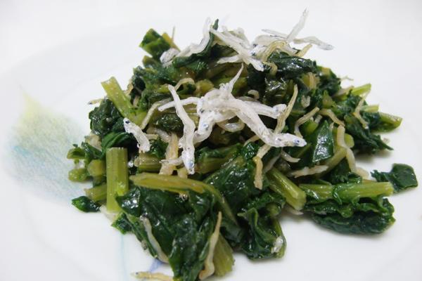 大根葉のふりかけ 脳にいい食べ物レシピ#23