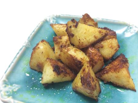 カレーまみれの焼き山芋 脳にいい食べ物レシピ#62