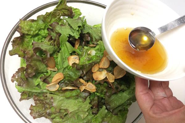 サニーレタスのサラダ 脳にいい食べ物レシピ#66