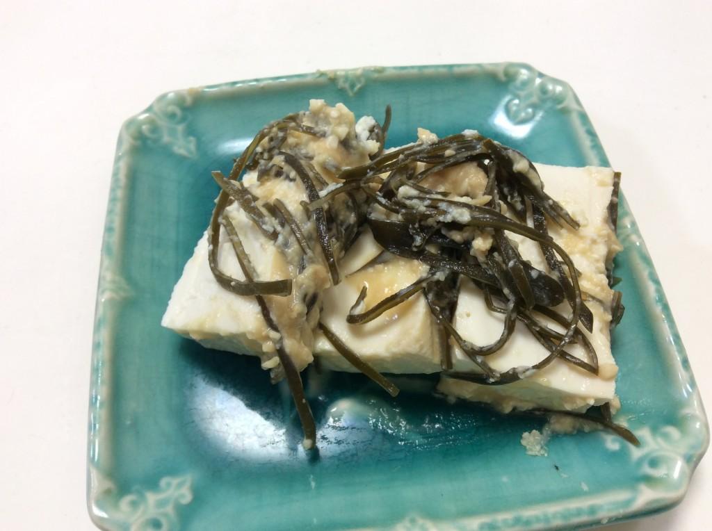 豆腐と昆布のみそ漬け 脳にいい食べ物レシピ#88