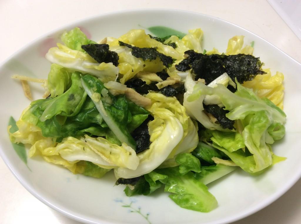 春キャベツの簡単和え 脳にいい食べ物レシピ#93