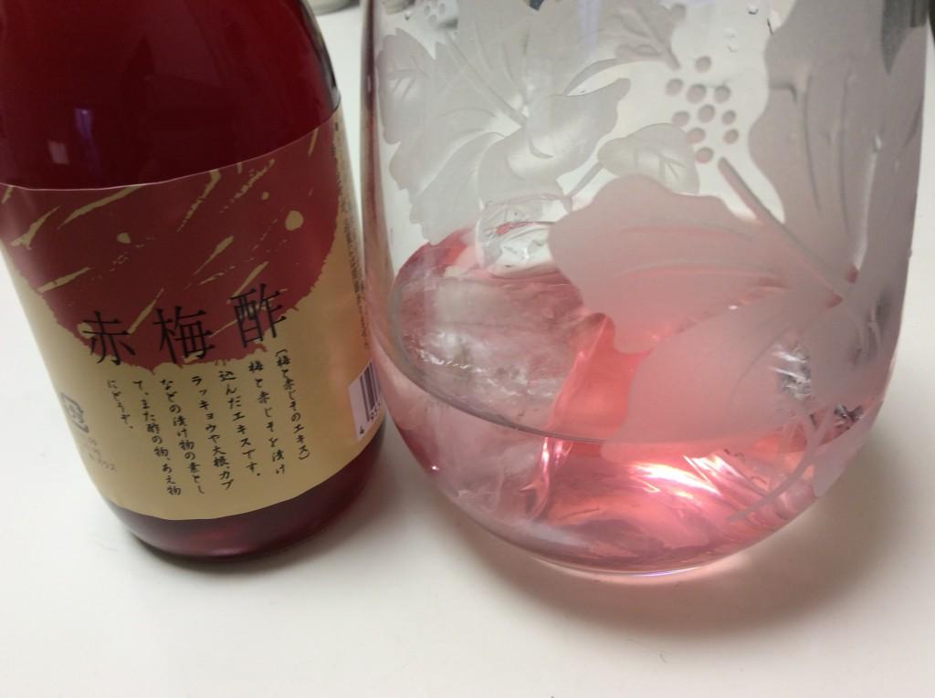 手作り梅酢ドリンクで、熱中症対策を♪
