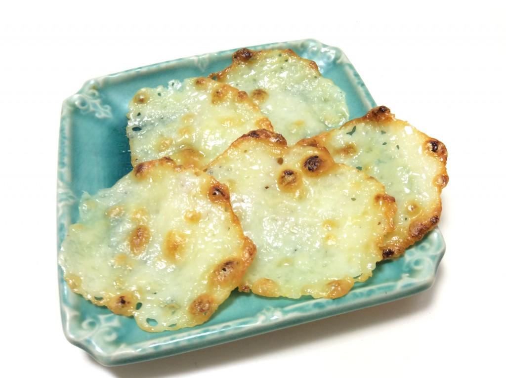 にんにくチーズせんべい 脳にいい食べ物レシピ#95[おつまみ編]