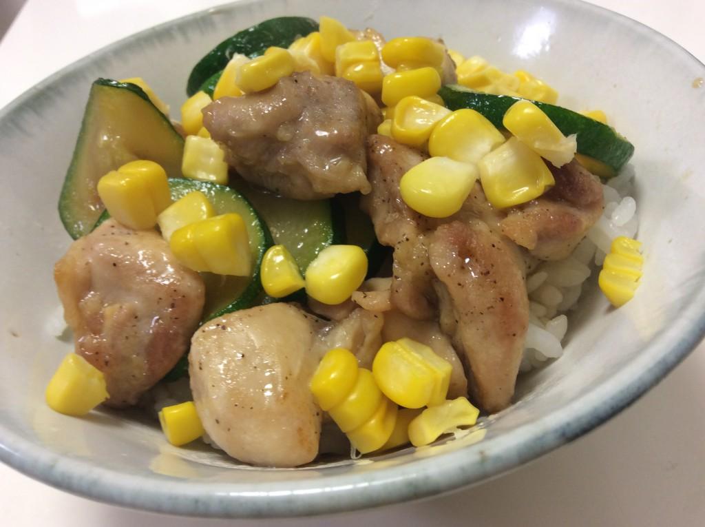 夏野菜たっぷりの照り焼き丼 脳にいい食べ物レシピ#97