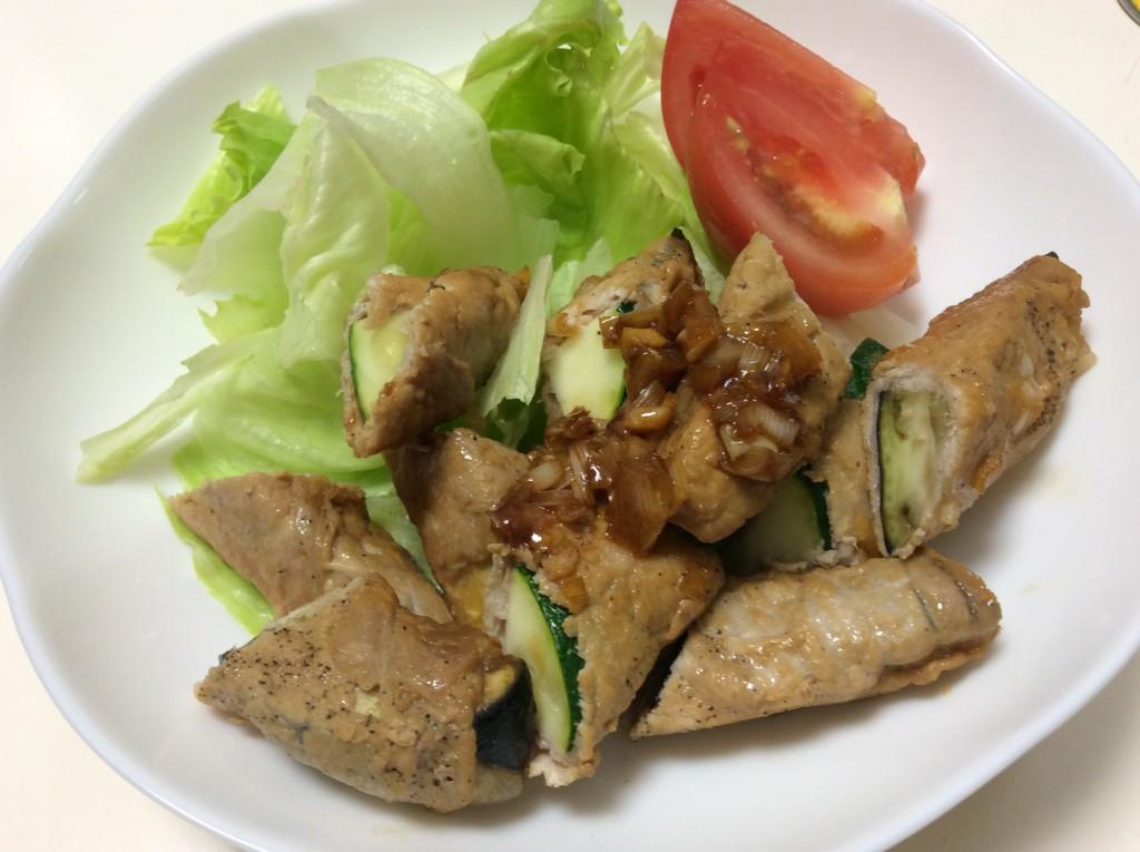夏野菜の肉巻き 脳にいい食べ物レシピ#99