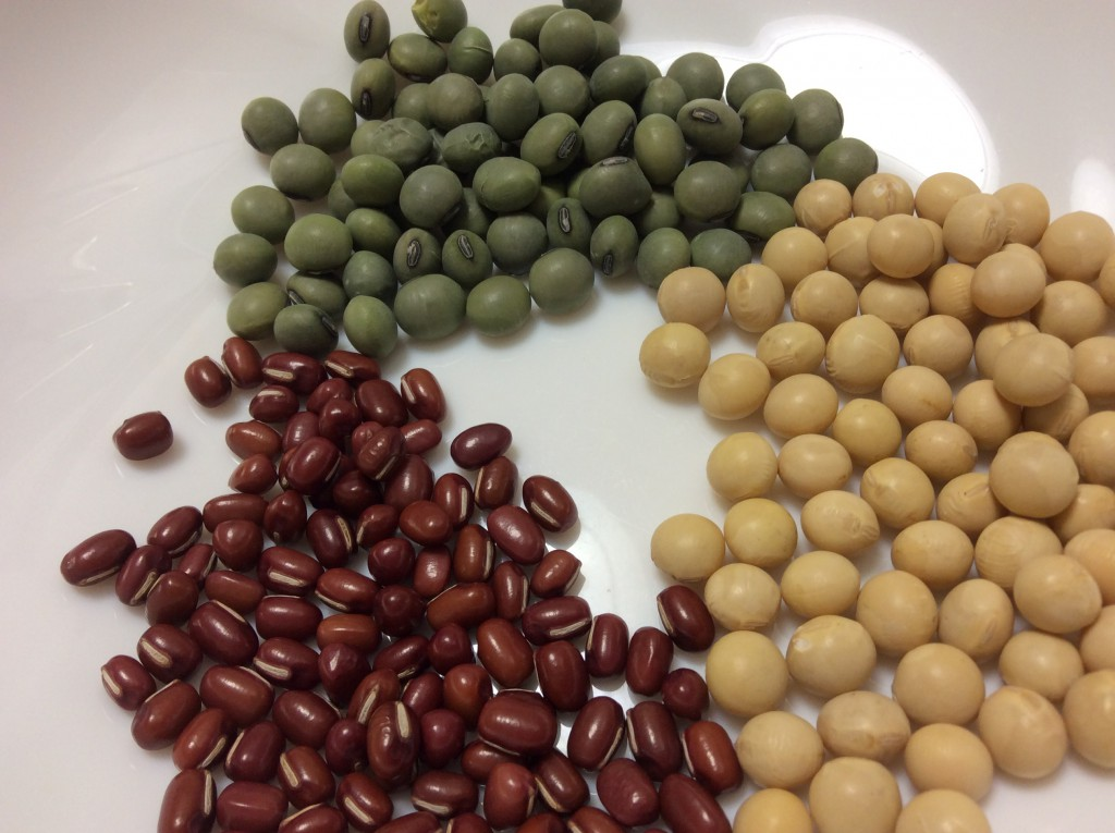 野菜の種類が少ない季節。こんな季節は豆を上手に使いましょう!!