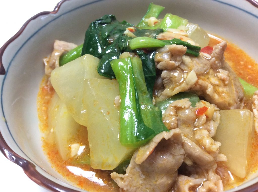 マーボ大根 脳にいい食べ物レシピ#108