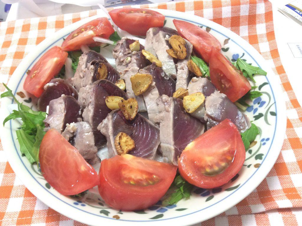塩麹でカツオのたたき 脳にいい食べ物レシピ#117