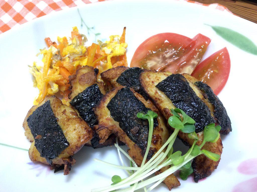 ササミのいそべカレー焼き 脳にいい食べ物レシピ#122