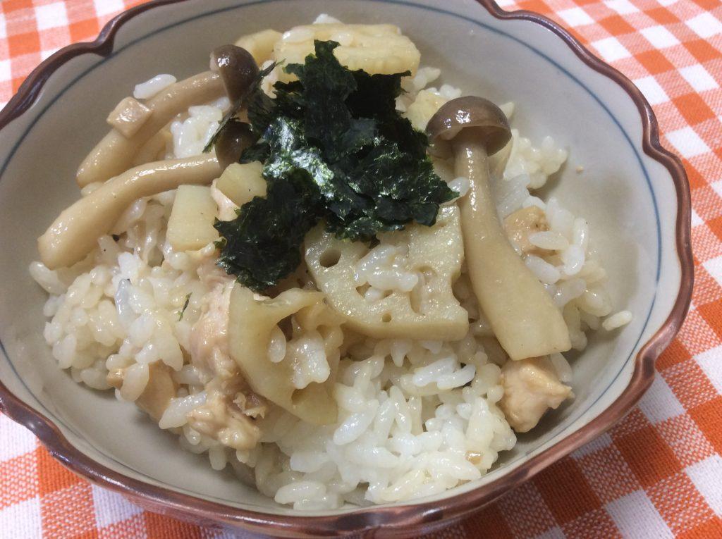 秋にお勧め!簡単混ぜご飯 脳にいい食べ物レシピ#124