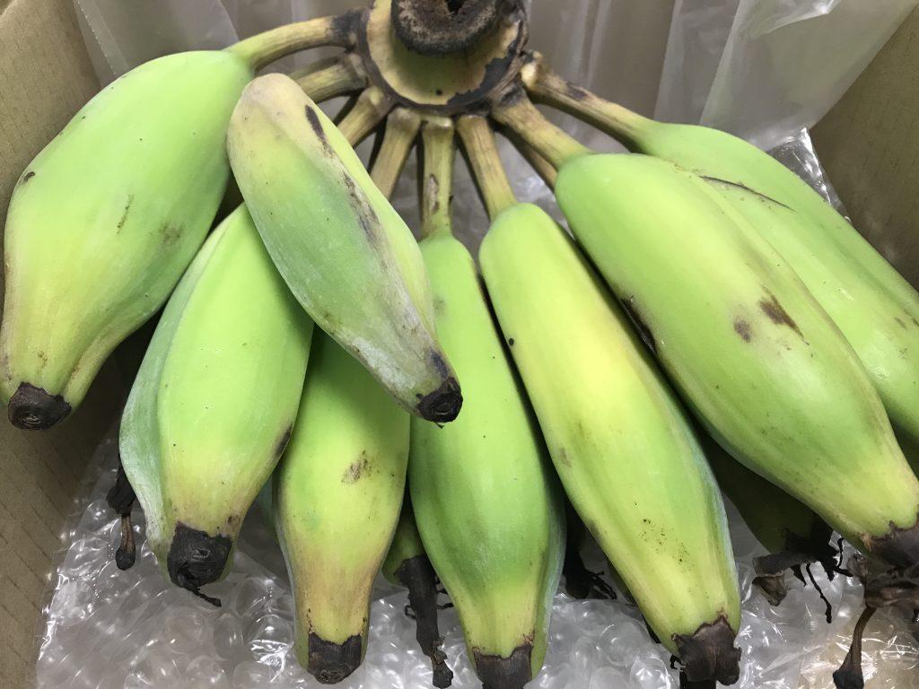 青いバナナが届いたらどうする?