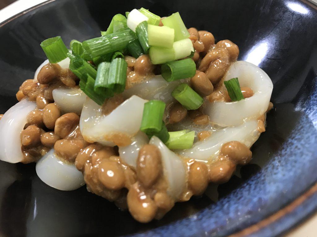 ヤリイカの納豆和え #脳に良い食べ物レシピ133