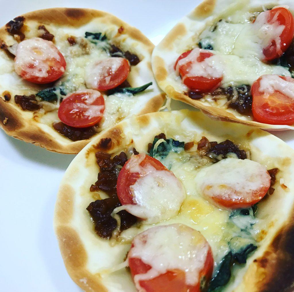 残り物でピザ 脳にいい食べ物レシピ#134