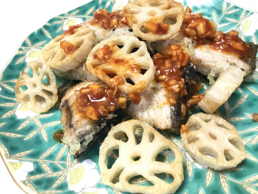 ブリの青さ揚げ 脳にいい食べ物レシピ#135