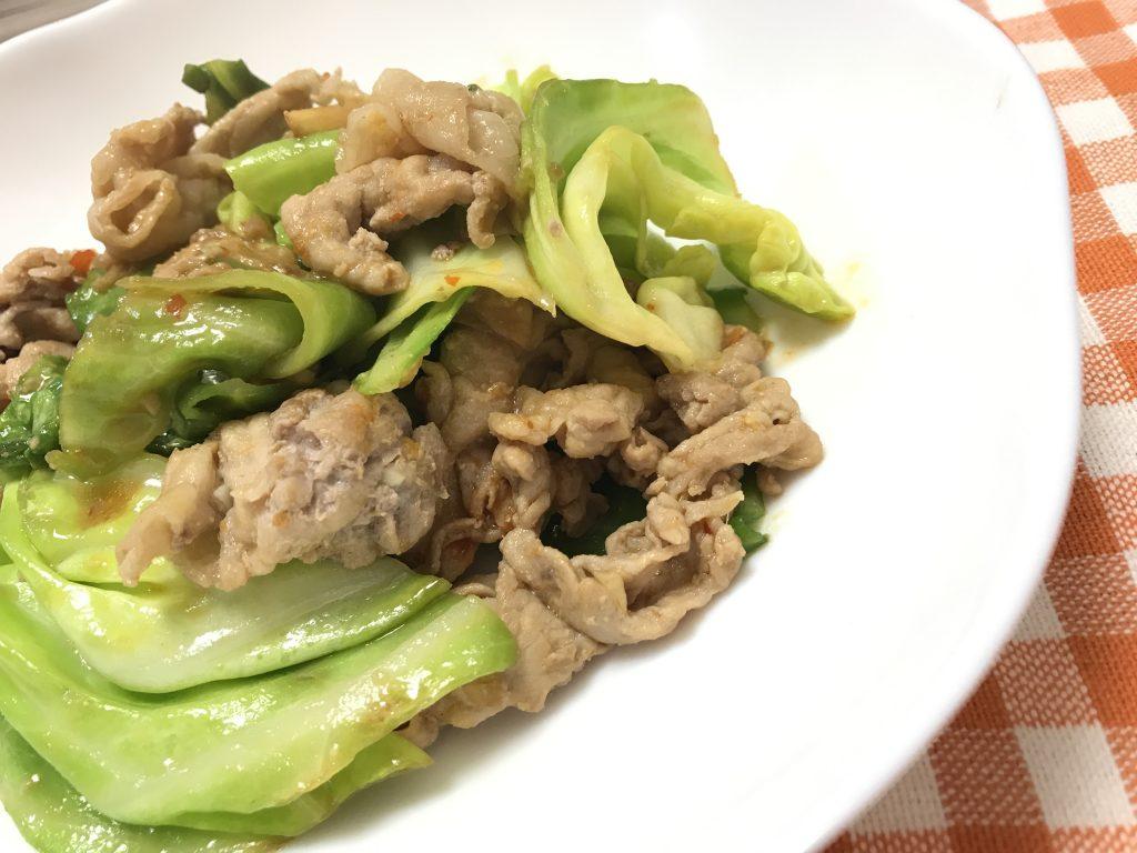 しょうゆ麹でホイコーロー 脳にいい食べ物レシピ#139
