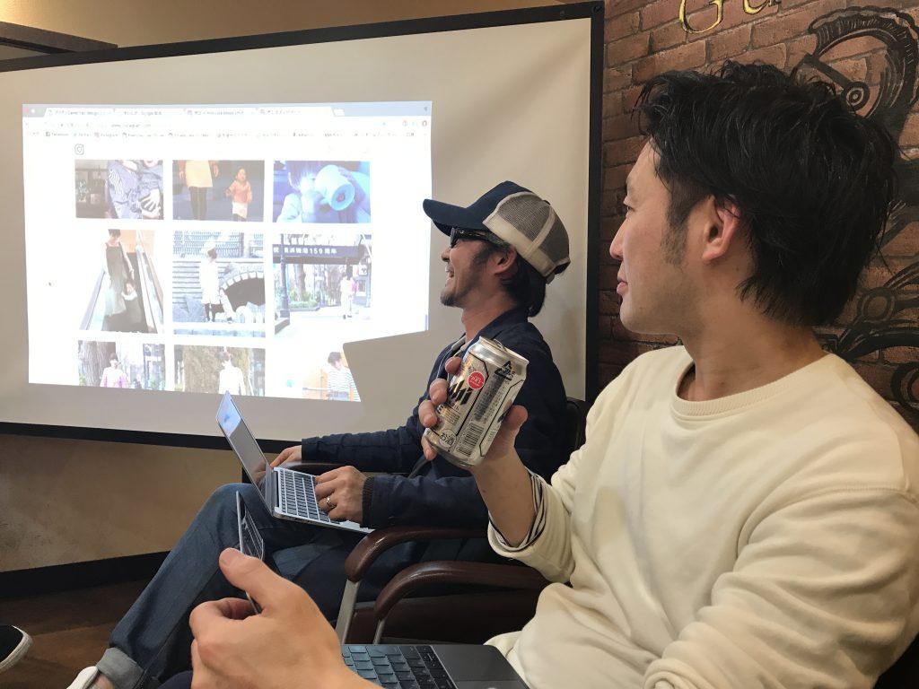一緒に講座を受けた溝田さんと吉川さん