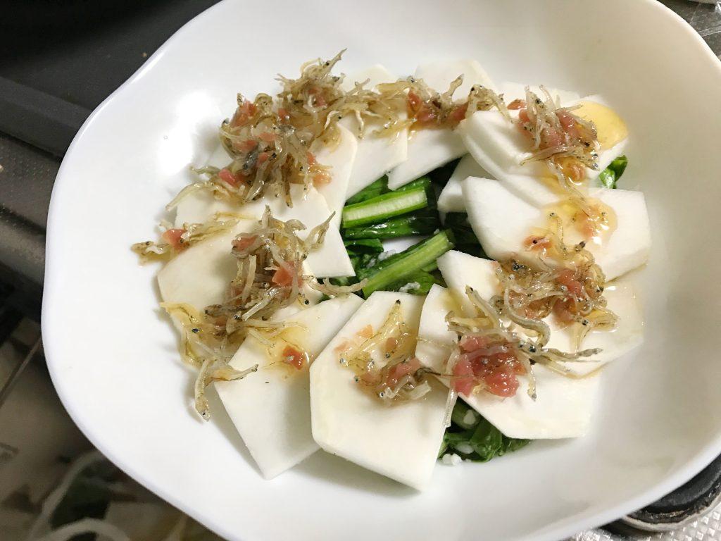 カブのカルパッチョ風 脳にいい食べ物レシピ#142
