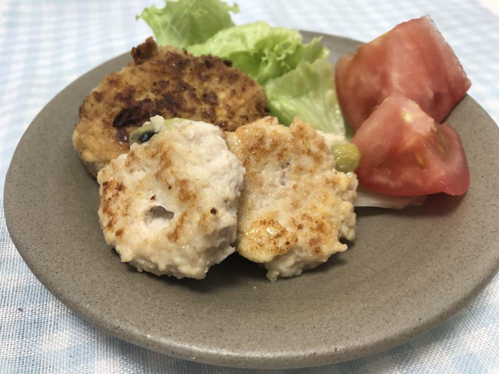 楽食教室で包丁を使わないでハンバーグ作りに挑戦!