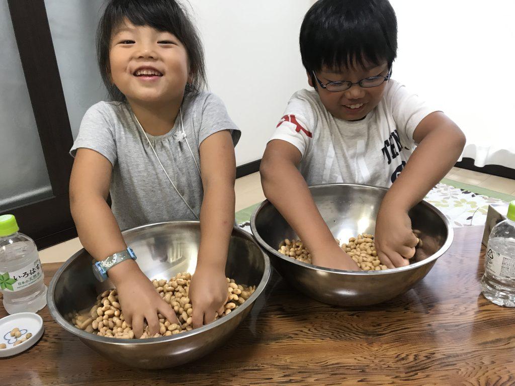 本当は面倒な味噌作り!だけど初めての方でも簡単、楽しい味噌作り教室を目指しています!