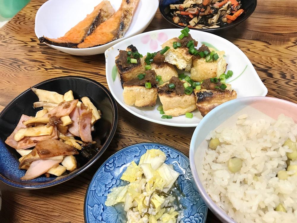 料理の中に手作り漬物があると、味の変化を楽しめるし、何より腸が元気になります