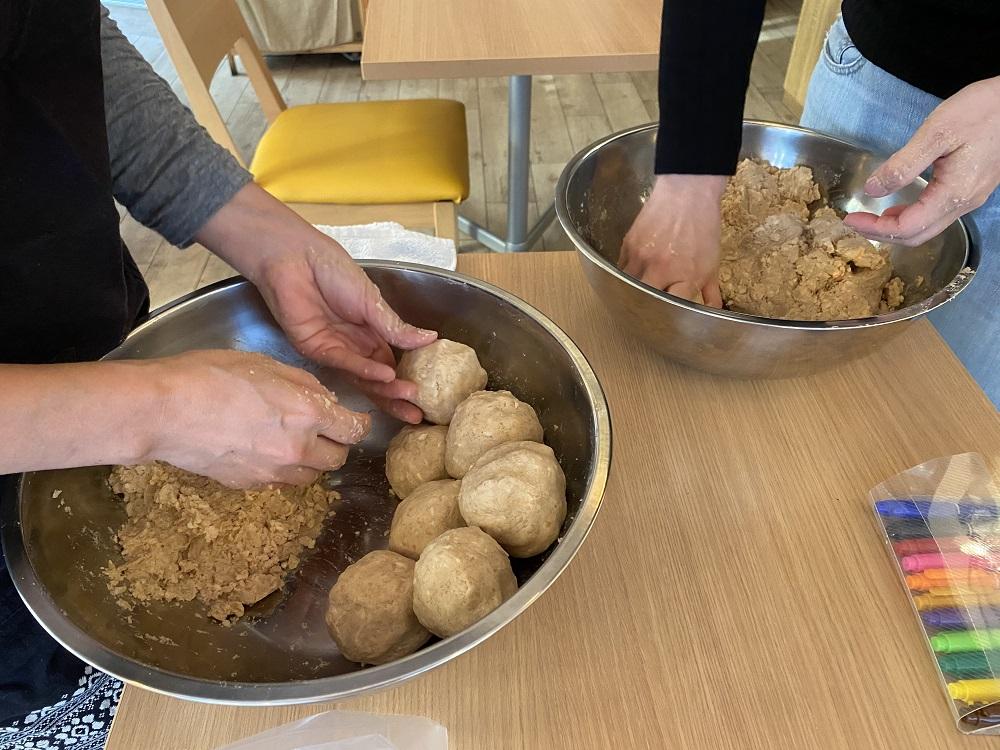 沖縄 屋我地島の塩で味噌作り