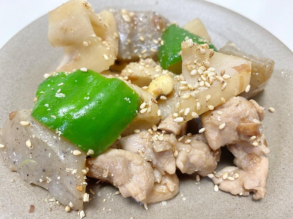 鶏肉とレンコンの味噌炒め 脳にいい食べ物レシピ#182